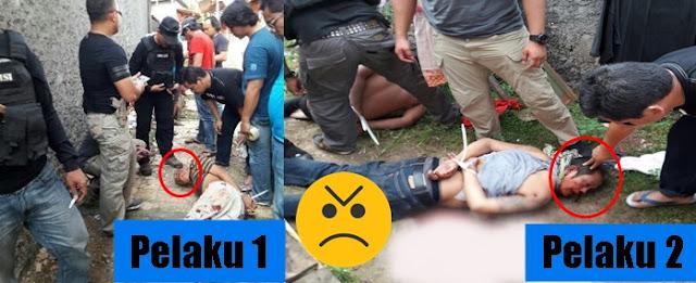 Inilah Foto 2 Orang Pelaku Pembunuhan Sadis di Pulomas yang Tertangkap Polisi