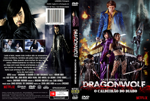 Capa DVD Dragonwolf O Caldeirão Do Diabo
