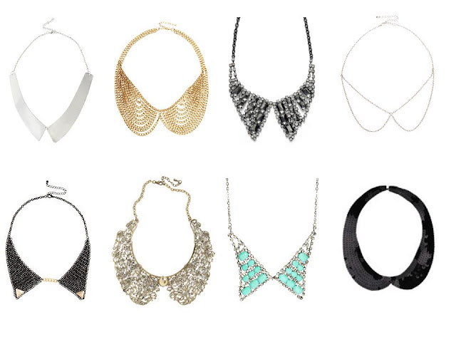 {Trend} Collar Necklaces