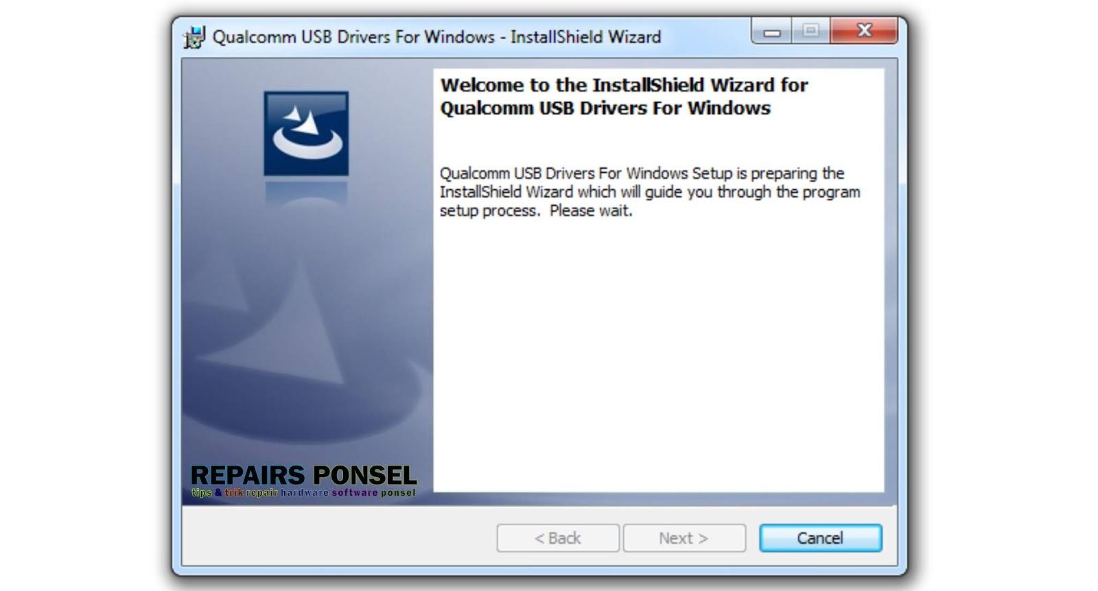 qualcomm usb driver windows 7 32bit