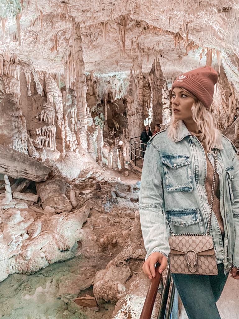 Postojna Cave in slovenia