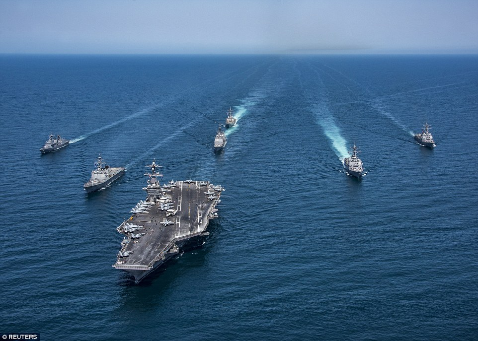 War News Updates: Three U S  Aircraft Carriers Will Be Conducting