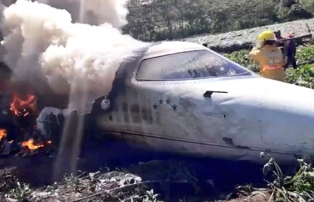 Aeronave de la Fuerza Aérea Mexicana se accidenta Veracruz; hay seis muertos. @SUUMA_CDMX