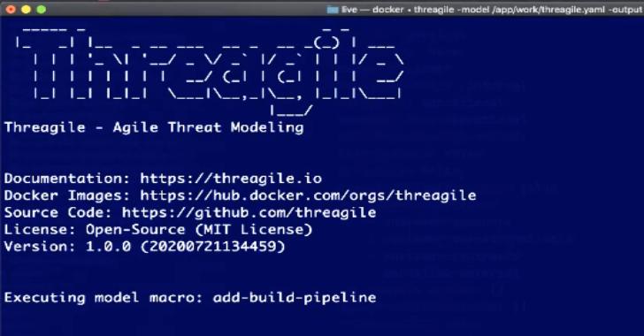 Threagile : Agile Threat Modeling Toolkit