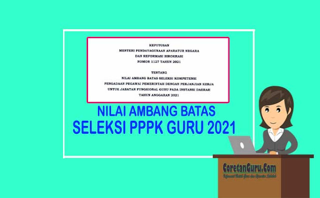 Ambang Batas Seleksi PPPK Guru TK, SD, SMP, SMA/SMA Terbaru