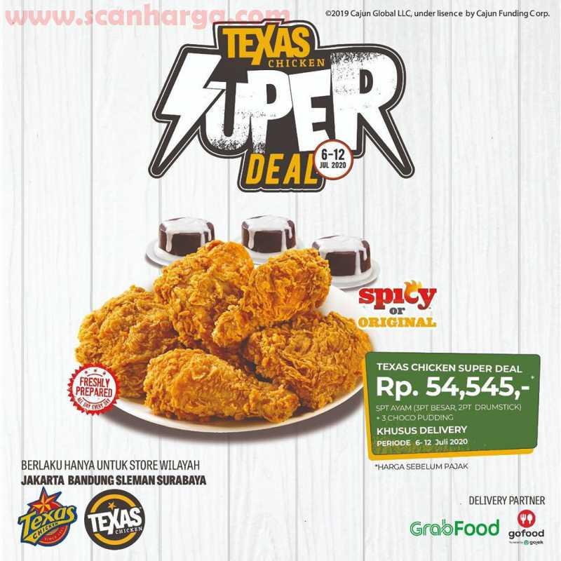 Promo Texas Chicken Terbaru 6 - 12 Juli 2020
