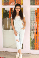 Mishti Chakraborty in lovely Jumpsuit and crop top at Wings Movie Makers Production No 1 movie launch ~  Exclusive 21.JPG
