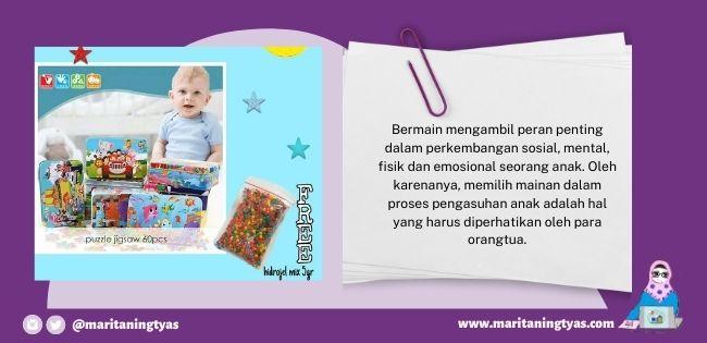 peran penting mainan untuk tumbuh kembang anak