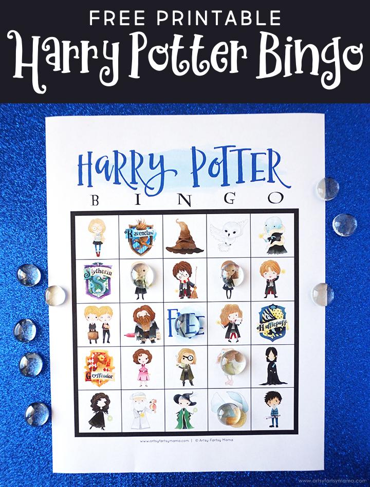 Free Printable Harry Potter Bingo