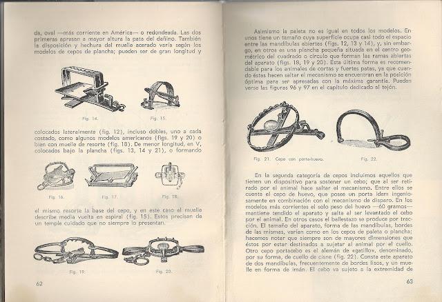 Fragment del llibre Caza de Alimañas de J. España Payá 1972