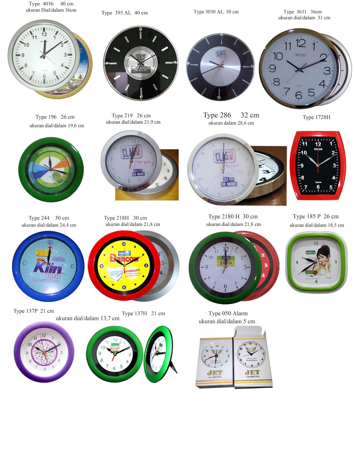 Produksi Jam Dinding Plastik Promosi 778d672295