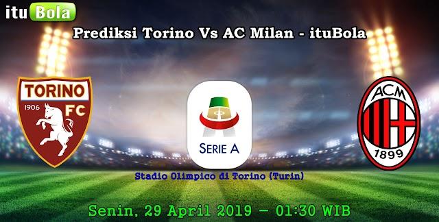 Prediksi Torino Vs AC Milan - ituBola