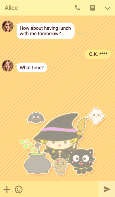The witch baby in Halloween