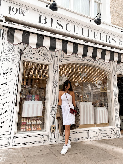 Kelly Fountain at The Biscuiteers London