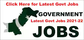 Government Jobs 2021-2022 in Pakistan Today