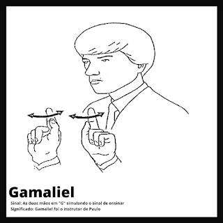 Gamaliel em Libras