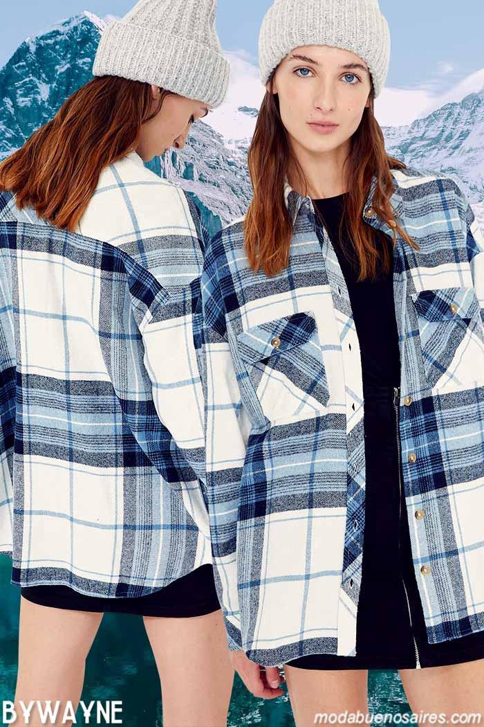 Camisacos mujer otoño invierno 2021