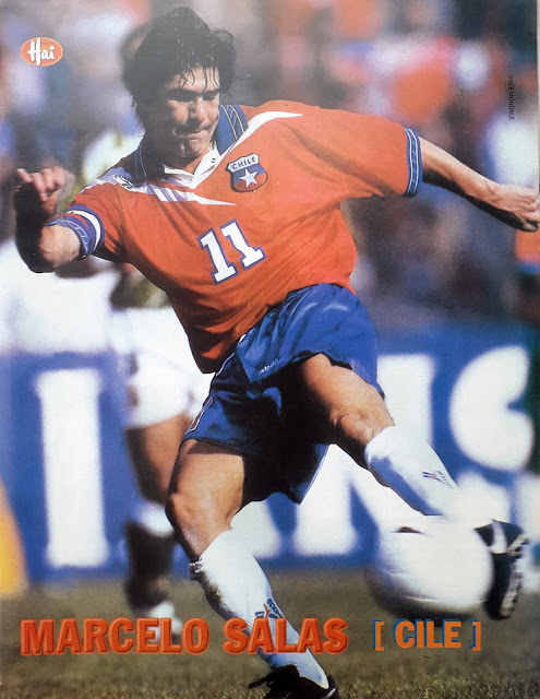 PIN UP MARCELO SALAS CHILE