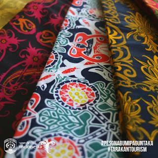 Batik Pakis Asia, Perajin Batik Motif Khas Tarakan - Tarakan Info