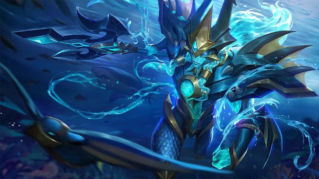 Wallpaper Skin Alpha - Sea Gladiator