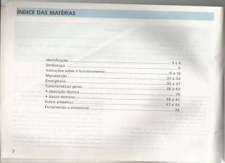 Manual da Kombi 1995 - 1996