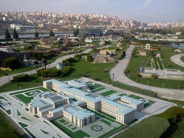 حديقة مينيا تورك| اسطنبول | السياحة فى تركيا
