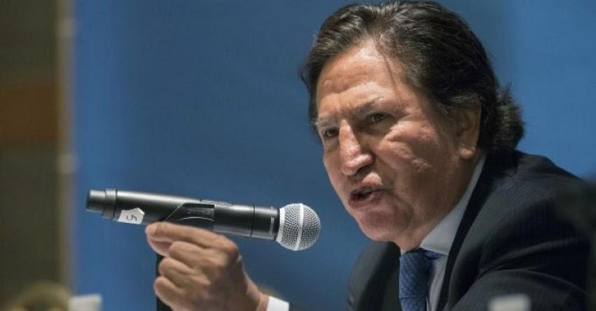 Aprueban pedido de extradición de expresidente Alejandro Toledo Manrique