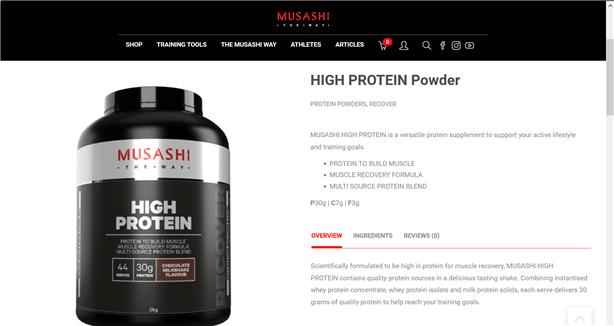 Musashi-High-Protein-Powder