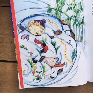 """""""Junge und Schwein - Fröhliche Schweinachten"""" von Dominique Magdalene Stengl, mit Illustrationen von Magdalena Karbasz"""