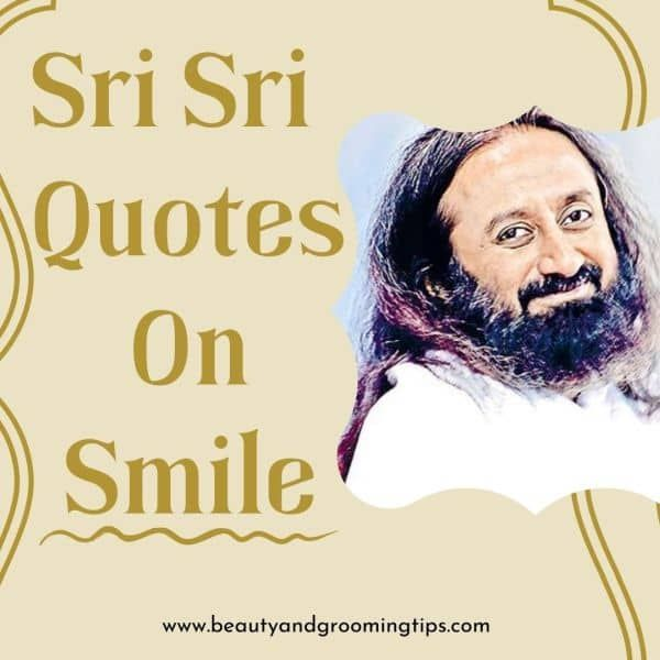 Sri Sri Quotes On Smile