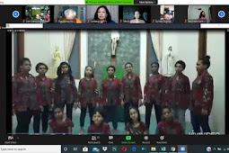 Pertemuan Virtual Umat Lingkungan Fransiskus Xaverius 3 Melalui Zoom