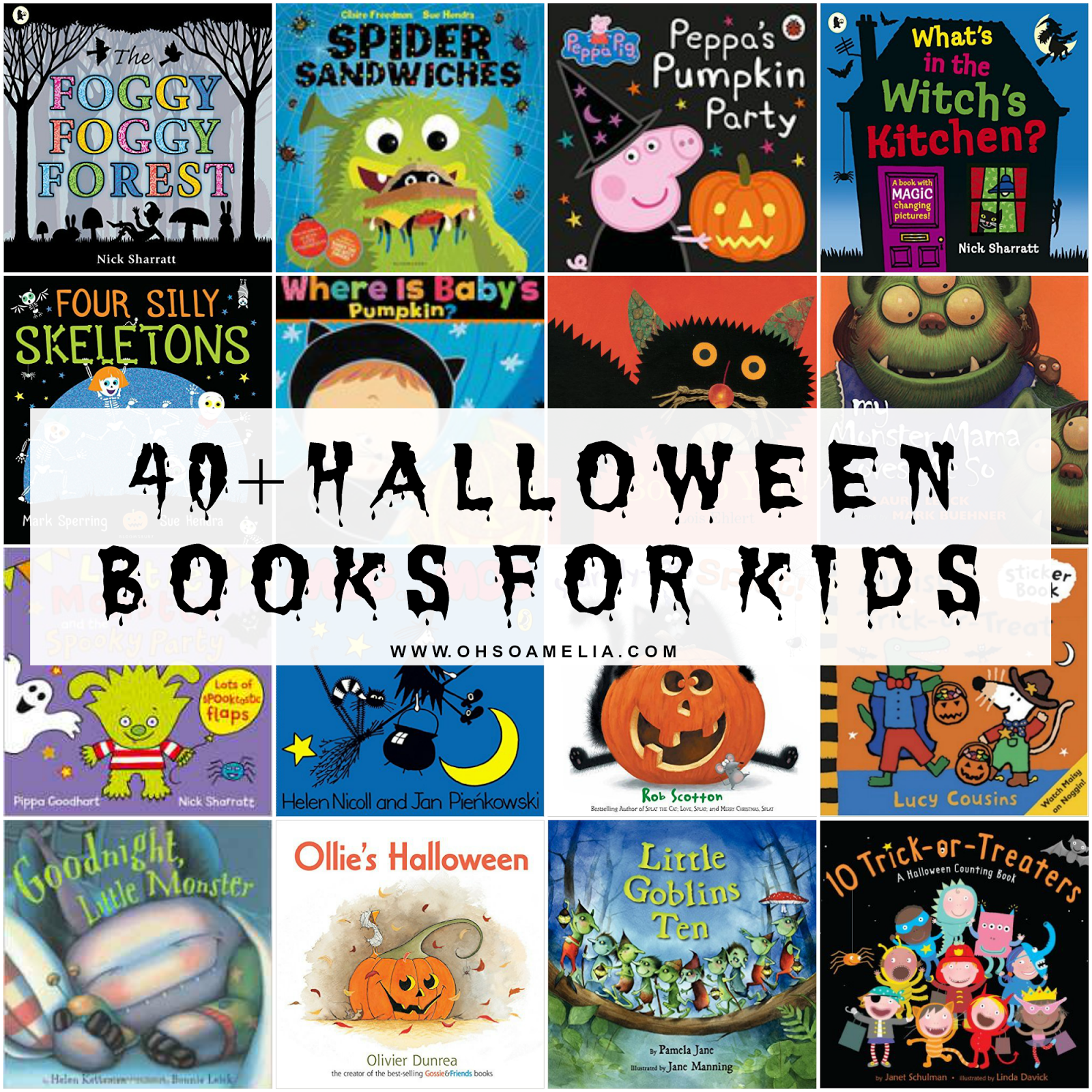 40+ Halloween books to get your kids in the Halloween spirit