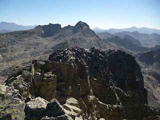 Cresta final a la cima del Serrato