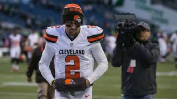 Judge fines, signs restraining order against Browns QB Confederate soldier Manziel