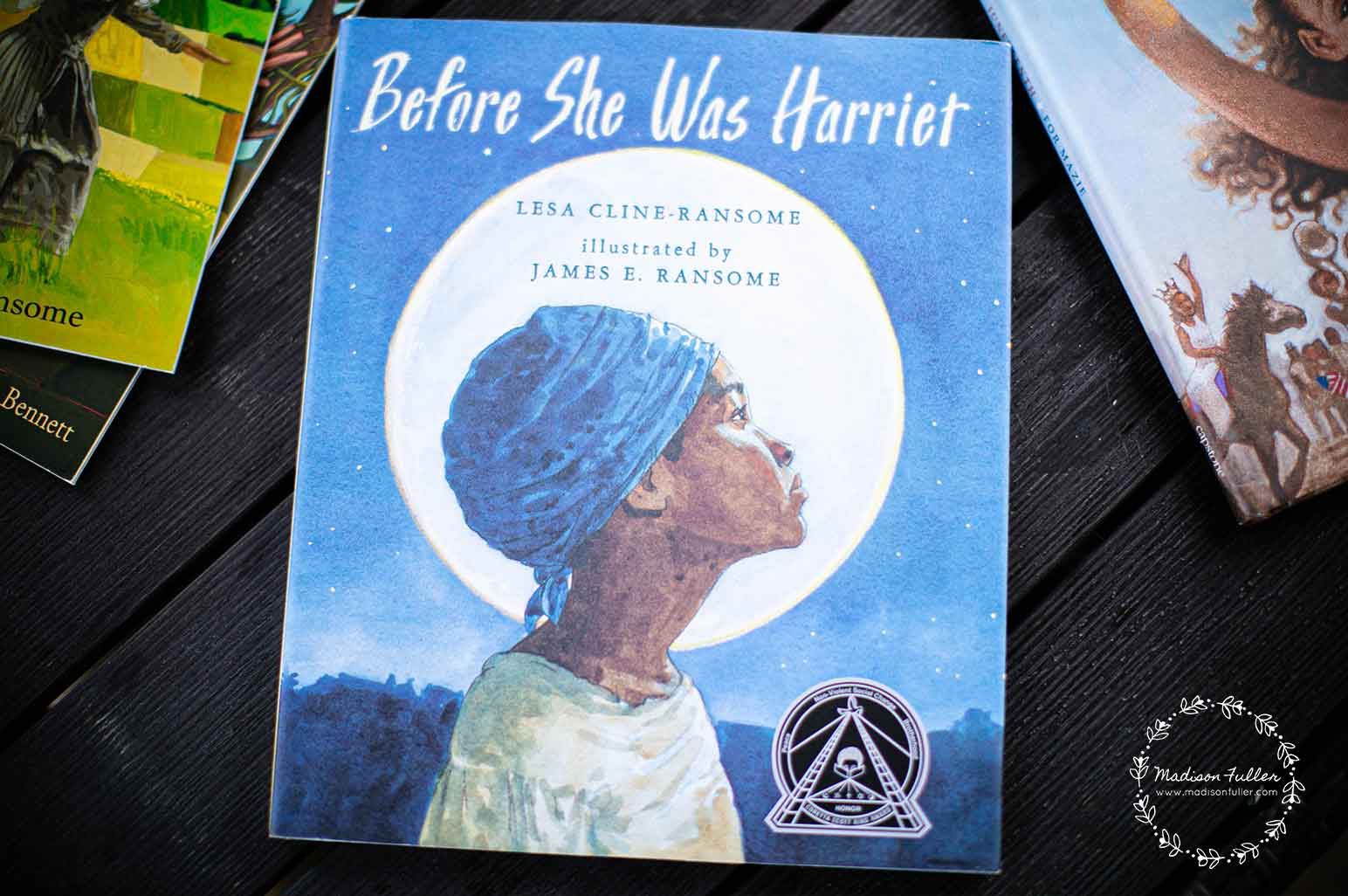 Juneteenth Books for Kids - Before She was Harriet