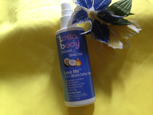 The Lotta body with Coconut & Shea oilLove Me 5-n-1 Leave-In Treatment