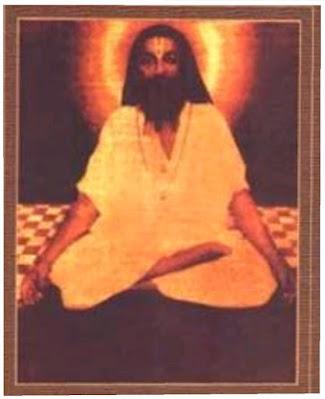 सुरत शब्द योग का चिंतन करते हुए सद्गुरु महर्षि मेंहीं परमहंस जी महाराज