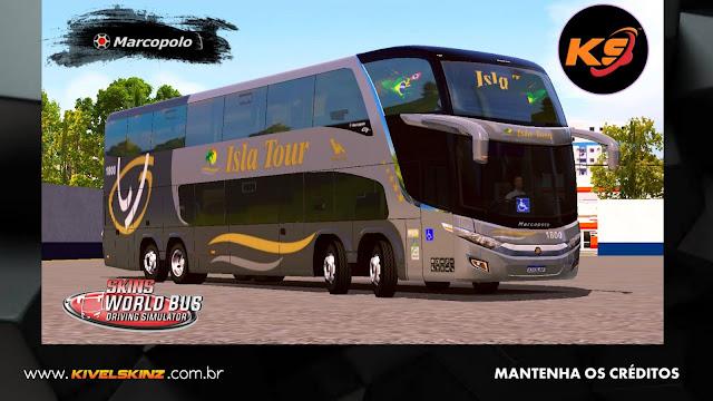 PARADISO G7 1800 DD 8X2 - VIAÇÃO ISLA TURISMO