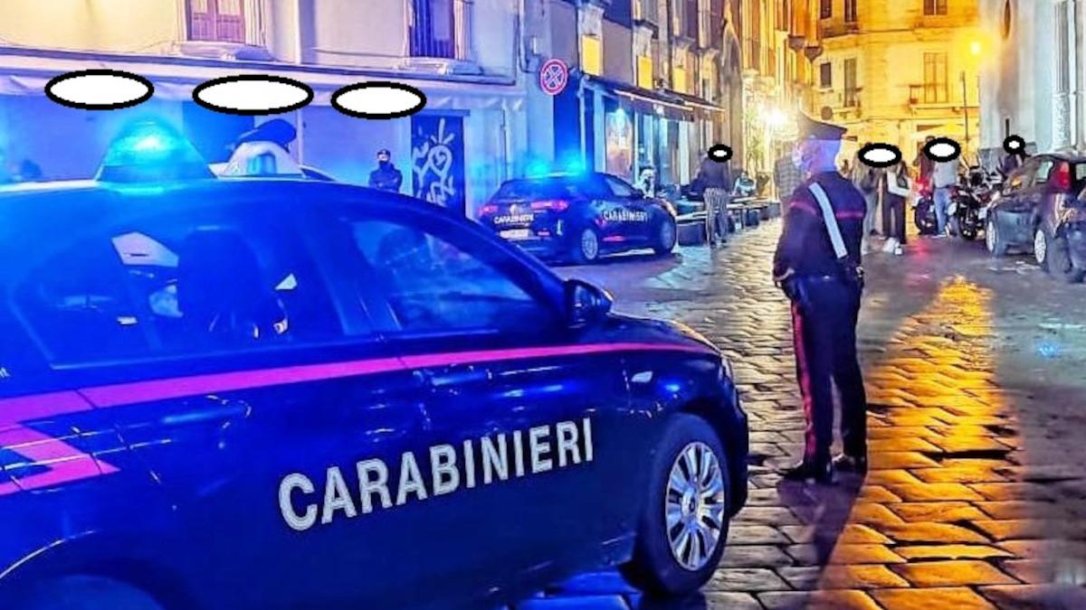 Arresto spacciatore Catania centro- Carabinieri