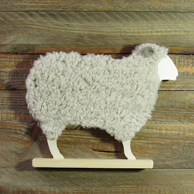 wooden sheep or wooden lamb