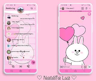 White Teddy Bear Love Theme For YOWhatsApp & Fouad WhatsApp By Natalia Luz
