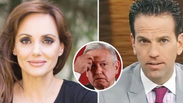Lilly Téllez se une alperiodista Carlos Loret para atacar al mediocre de AMLO ¿LOS APOYAS?