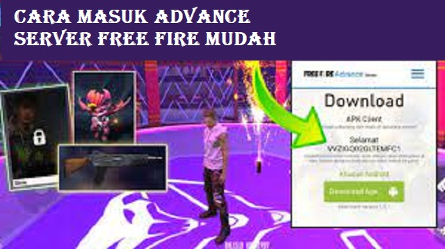 Cara Masuk Advance Server Free Fire
