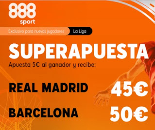 888sport superapuesta Real Madrid vs Barcelona 27 diciembre 2020