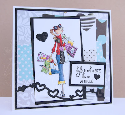 Heather's Hobbie Haven - Charlotte Loves to Shop Card Kit