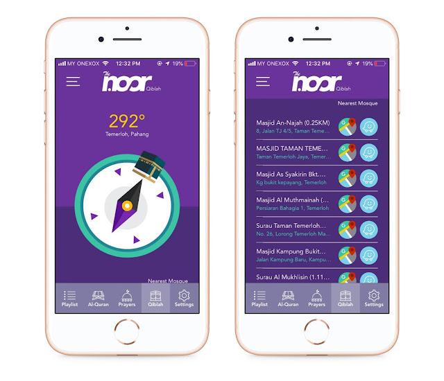 Aplikasi The Noor Sedia Dimuat-Turun Ke Telefon Pintar Anda