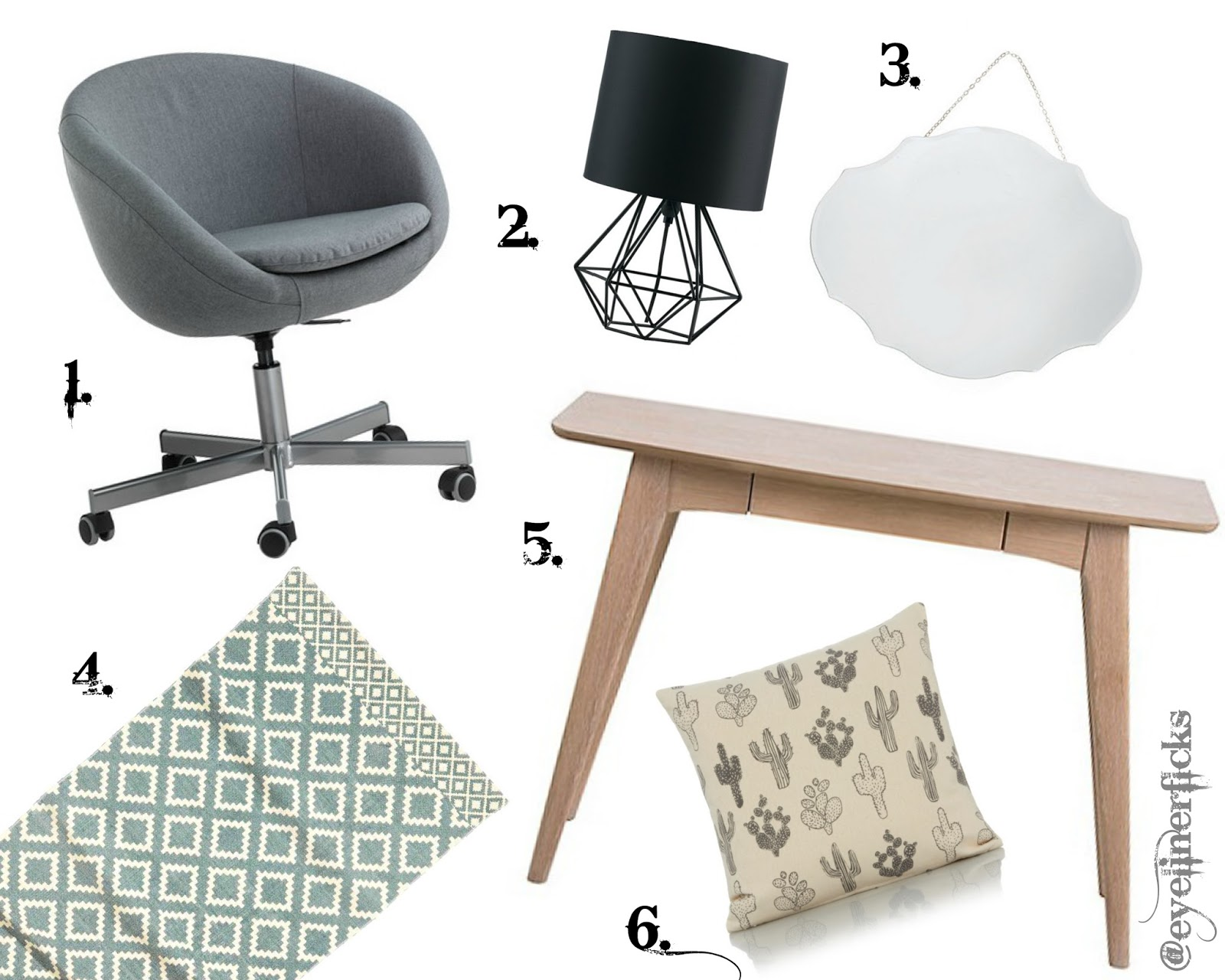 Home office homeware wishlist