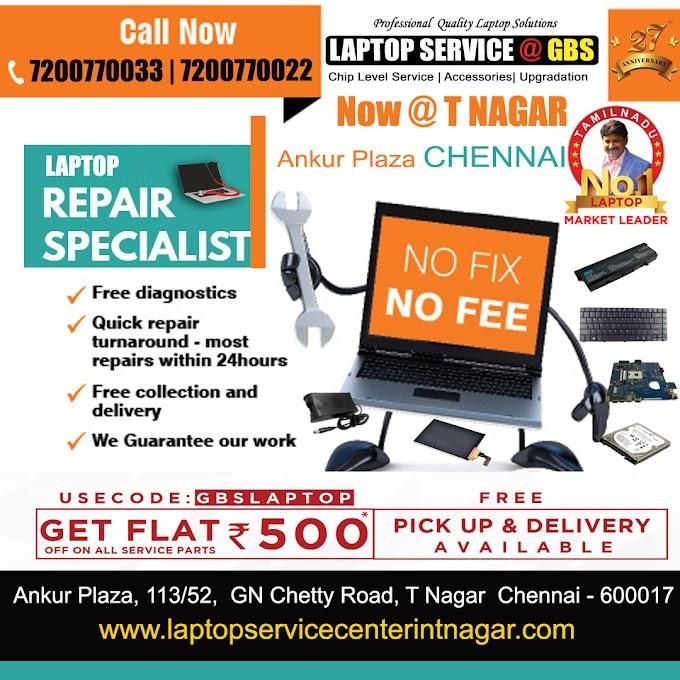 Laptop Service T Nagar Chennai