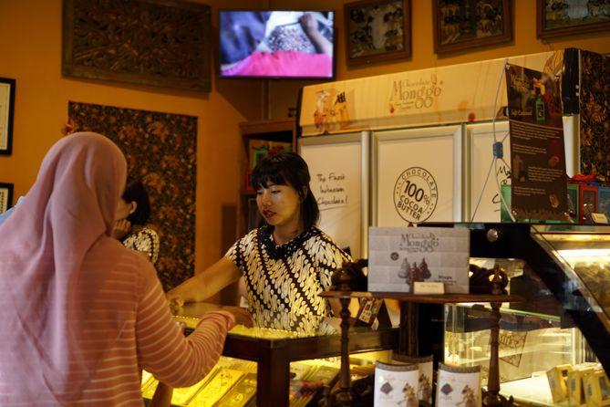 Mengunjungi Cokelat Monggo di Kotagede
