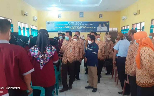 Ridho Yahya Buka Pelatihan Berbasis Kompetensi Program Pendidikan dan Pelatihan Vokasi 2021